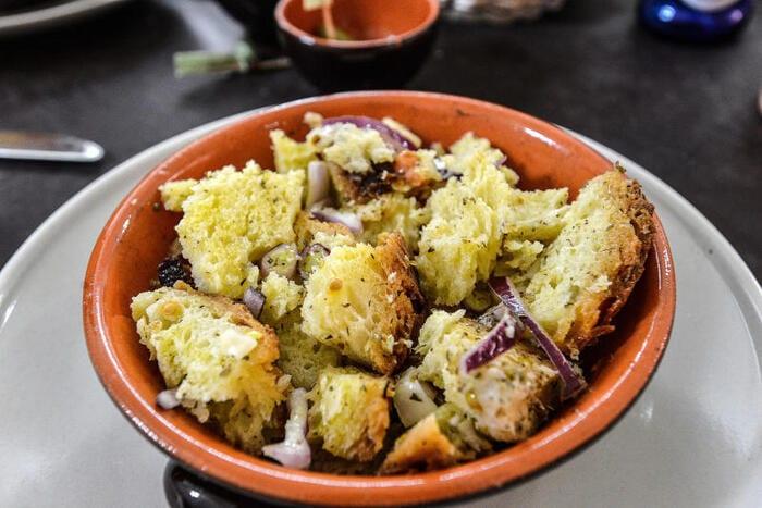 Cialledda piatto tipico della basilicata