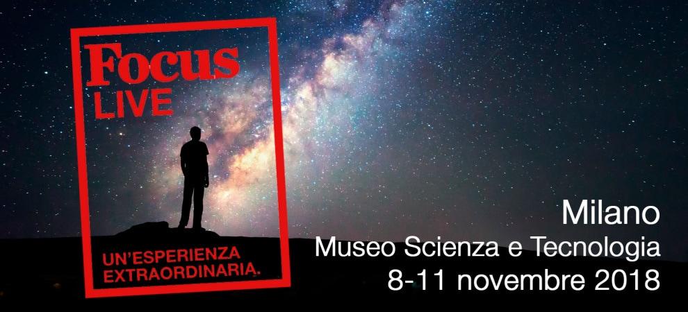 Focus Junior vi aspetta dall'8 all'11 novembre al FOCUS LIVE con tanti laboratori dedicati bambini e ragazzi