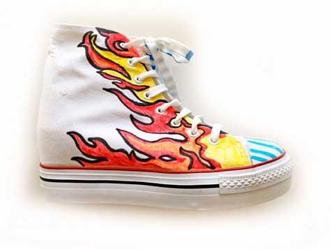 Lavoretto: le sneaker personalizzate