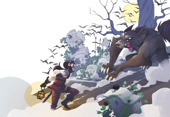 Laboratorio disegno puntata 6: La sfida con il lupo mannaro