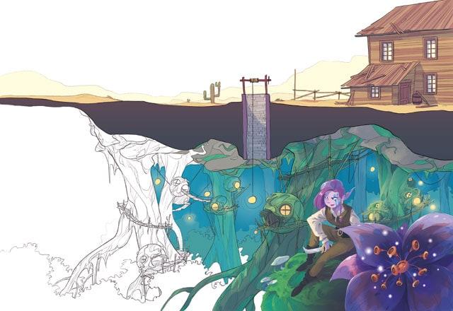 Laboratorio disegno puntata 7: Un mondo fantastico