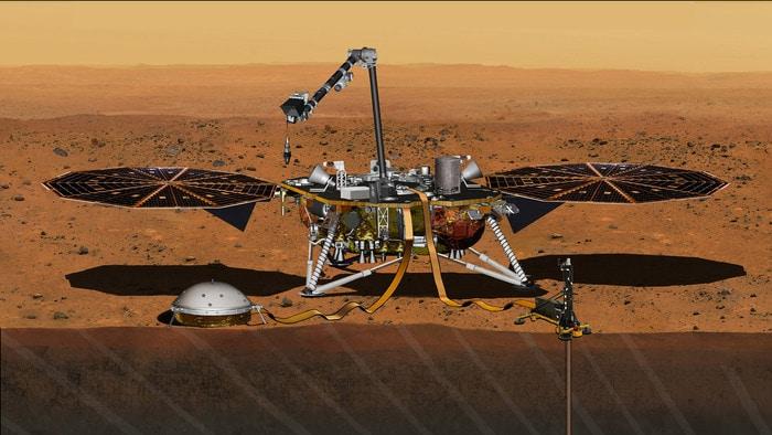 Insight: stasera la pericolosa discesa su Marte
