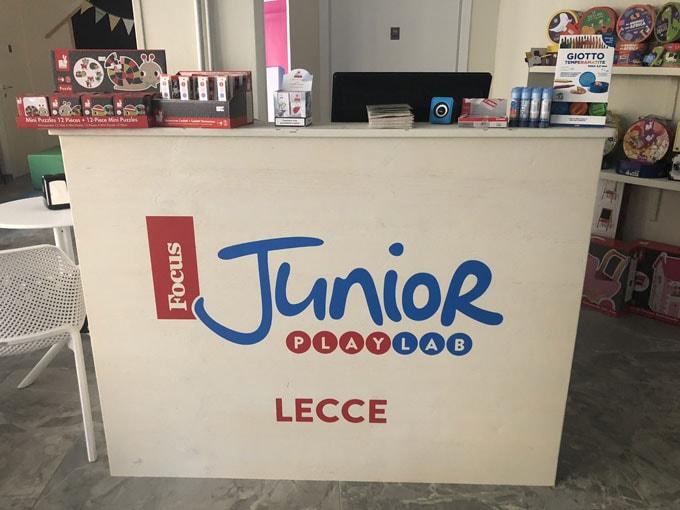 Lecce: l'8 settembre è nata la prima ludoteca di Focus Junior