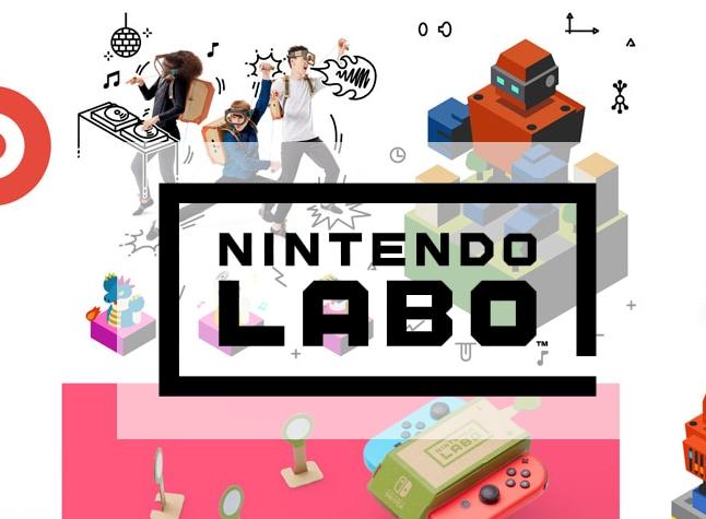 Costruisci ed esplora mondi con Nintendo Labo