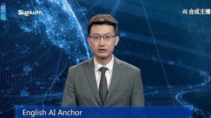 In Cina è andato in onda il primo giornalista virtuale!