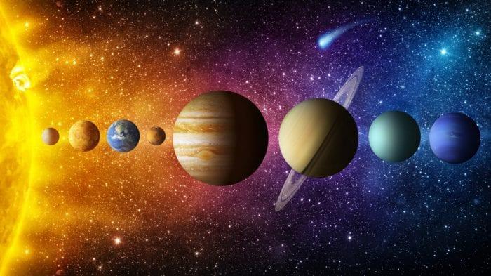 Sistema solare e Mercurio
