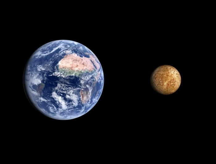 Terra e Mercurio