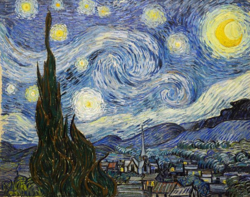 Van Gogh e la forza del colore