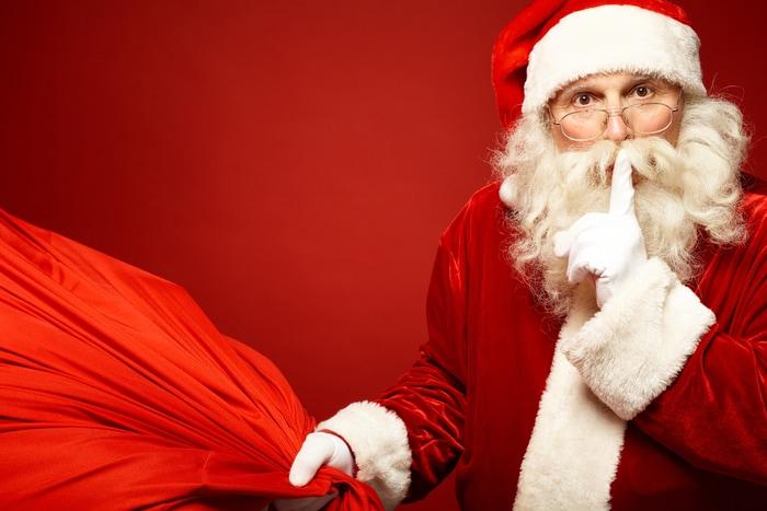 "Idee natalizie: il Babbo Natale ""segreto"""