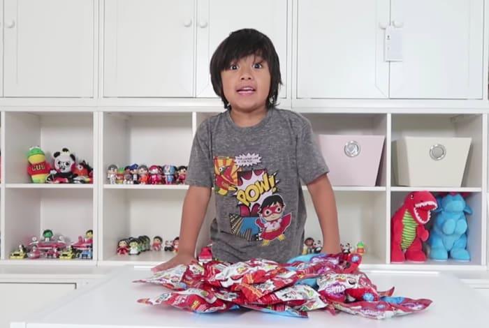 Ryan: lo youtuber di sette anni che ha guadagnato 22milioni di dollari