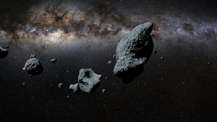 Gli asteroidi sono ricchi d'acqua!