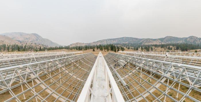 Il radiotelescopio Chime