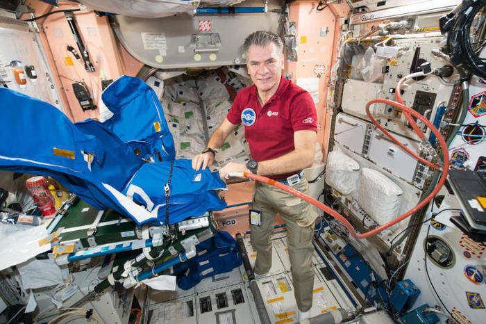 Nespoli sulla Stazione Spaziale Internazionale