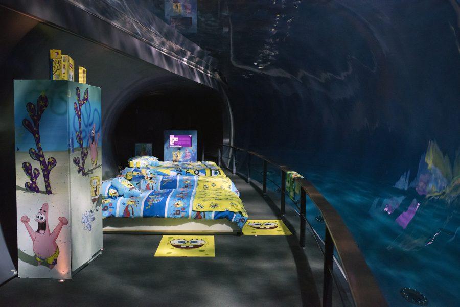 Una notte all'Acquario con Spongebob
