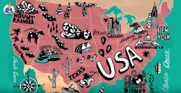 5 cose che non sai sugli USA (VIDEO)