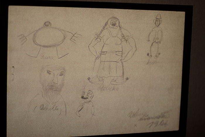 disegni di Terezín