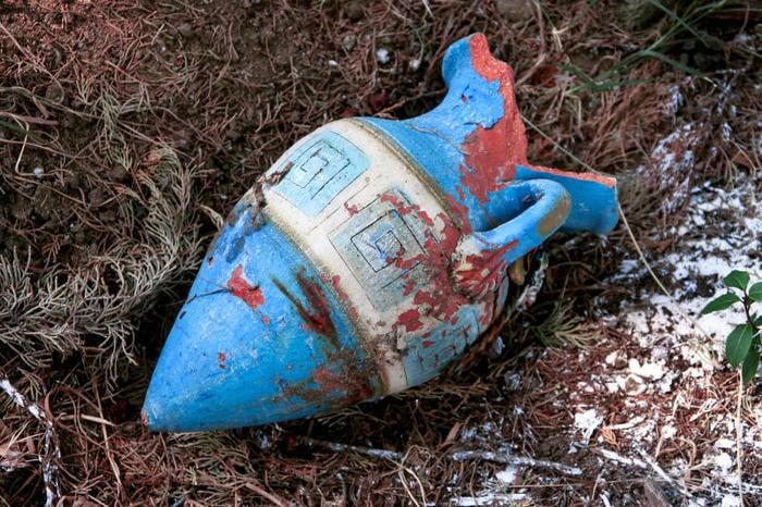 Antico vaso greco