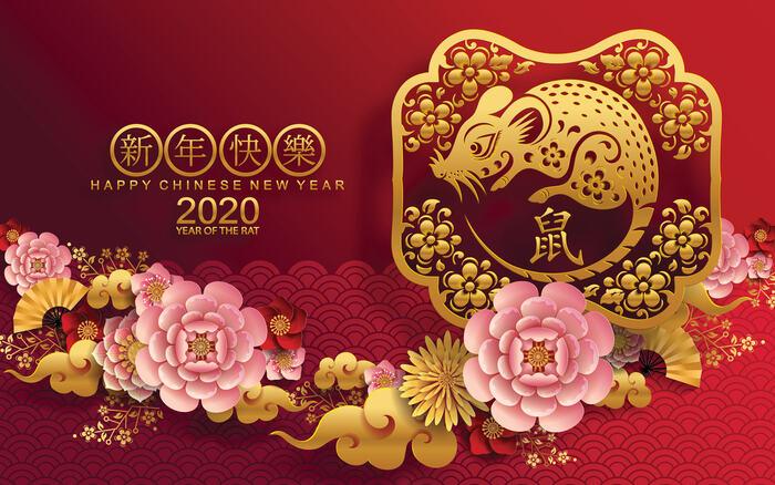 capodanno cinese 2020: anno del topo