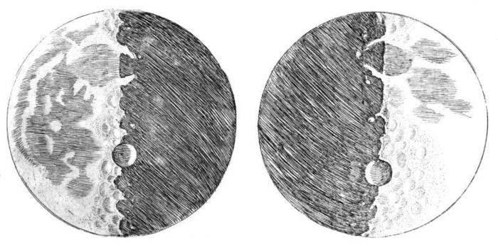 La Luna di Galileo: come lo scienziato descriveva il nostro satellite
