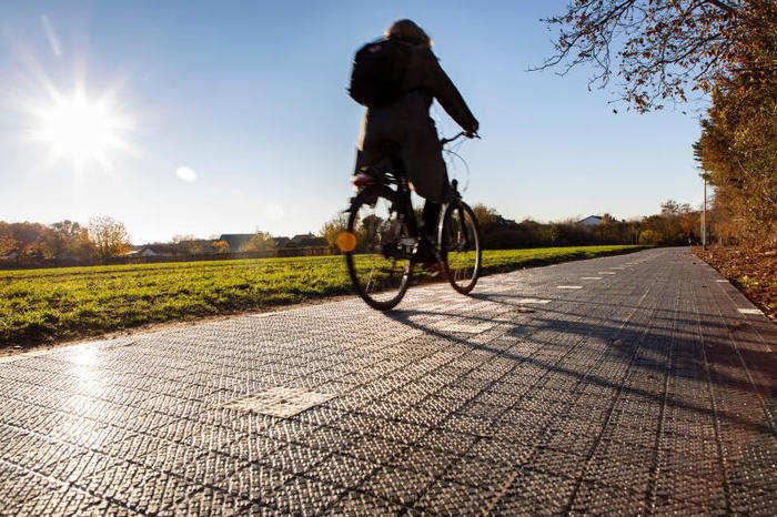 La prima pista ciclabile intelligente e anti inquinamento è un progetto italiano