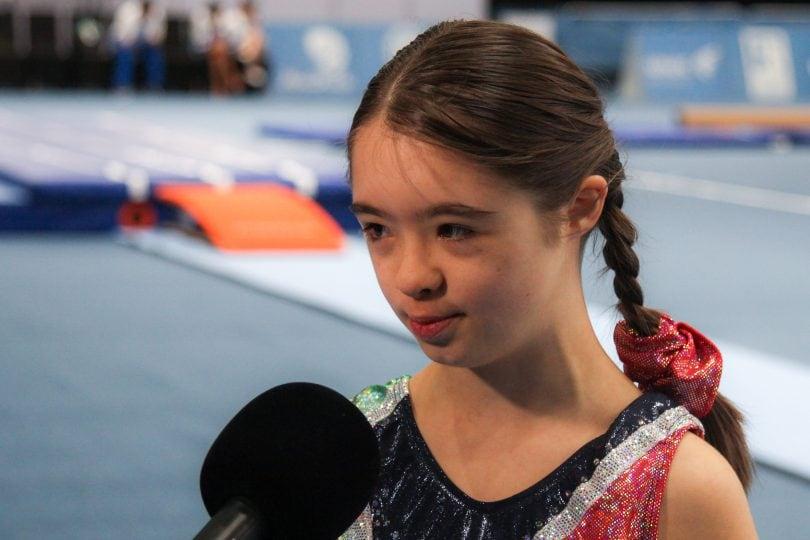 Martina Vismara, la piccola ginnasta che gareggia per sentirsi libera