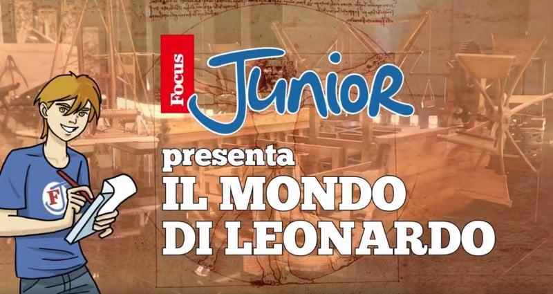 Leonardo da Vinci al museo Nazionale di Milano | Guarda il nostro video in esclusiva
