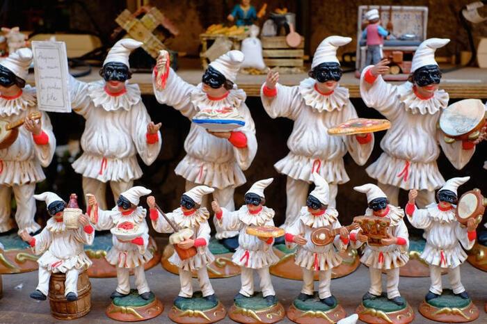 maschere del Carnevale italiano