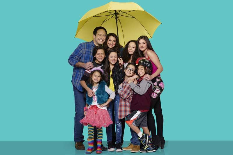 La famiglia Diaz-Harley in mezzo