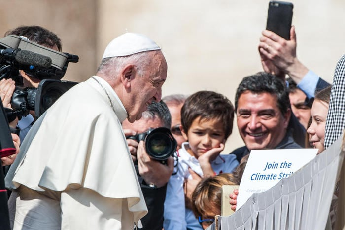 Greta e il Papa
