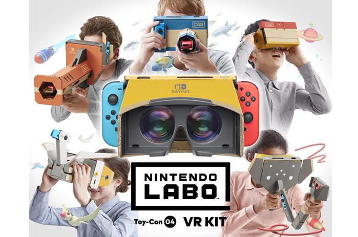 Nintendo Labo: Kit VR, in viaggio verso nuovi mondi