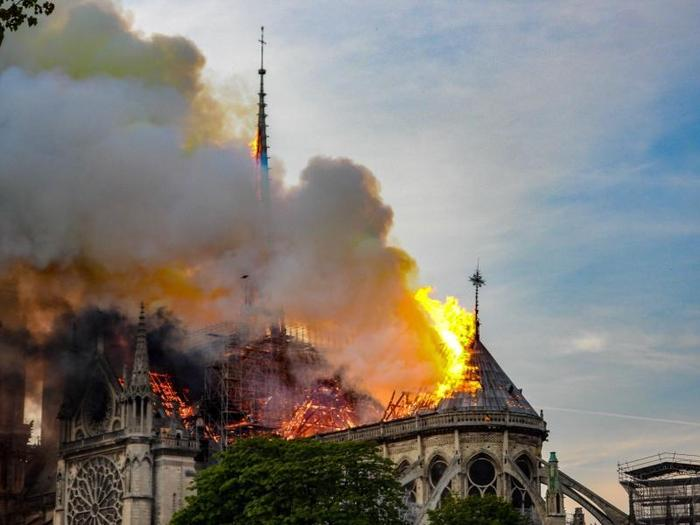 Incendio di Notre Dame: che cosa è successo
