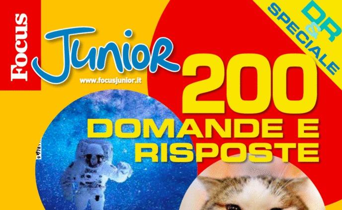 "Focus Junior: in edicola lo speciale ""200 Domande e Risposte"""