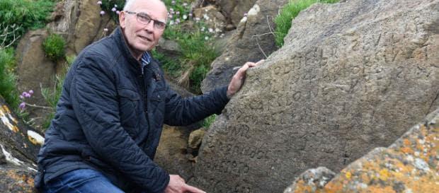 roccia misteriosa