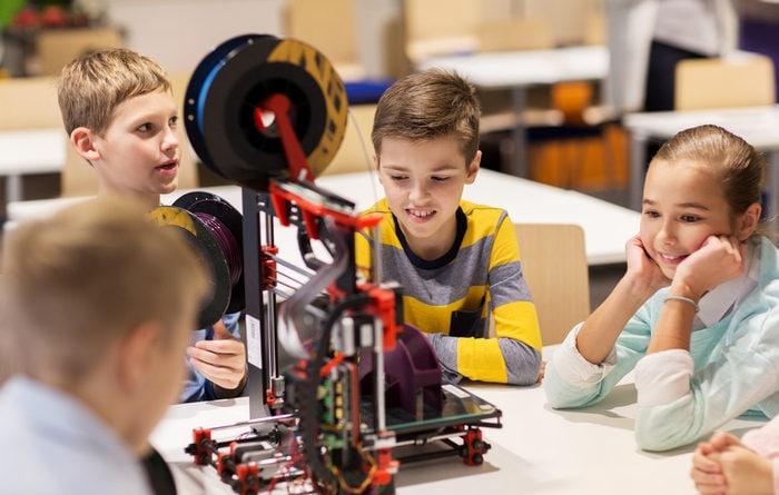 Scuola e tecnologia: le stampanti 3D nella didattica