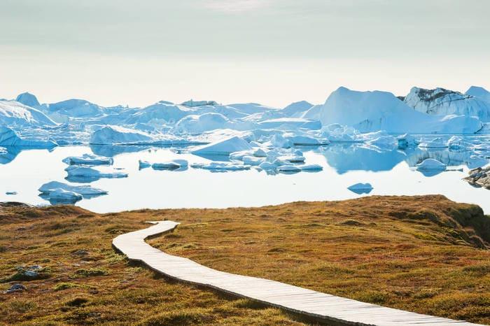 Groenlandia: attivista italiano ha cominciato una corsa in solitaria per salvare l'ambiente