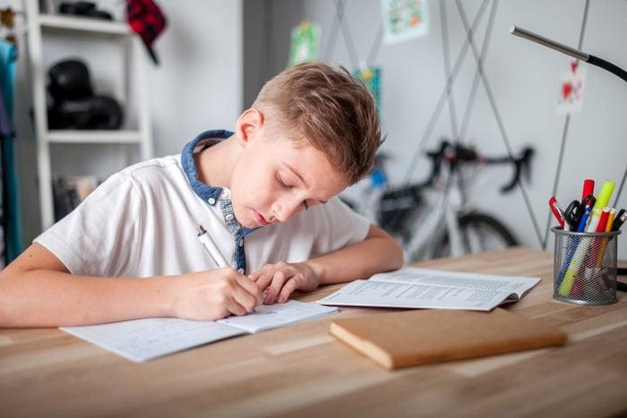 Compiti a casa: ci vuole la giusta misura