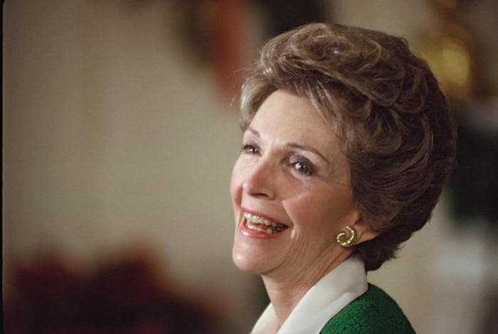 nancy reagan e stranger thins