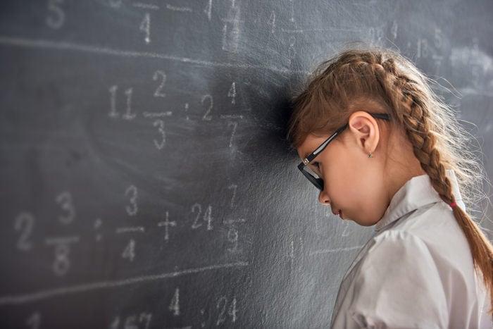junior reporter, Alicia ci racconta cosa ha escogitato per evitare una lezione di matematica