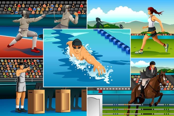 Pentathlon moderno, cos'è e come si pratica
