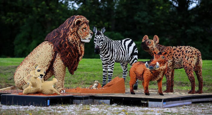 Safari di Lego