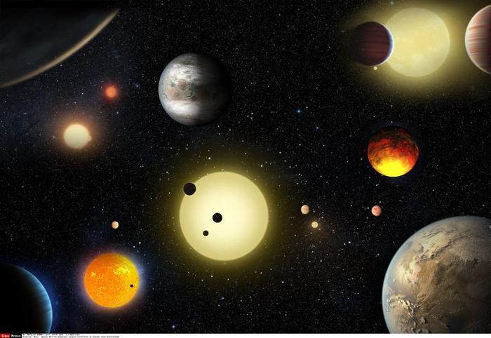 La mappa degli esopianeti in un video della NASA