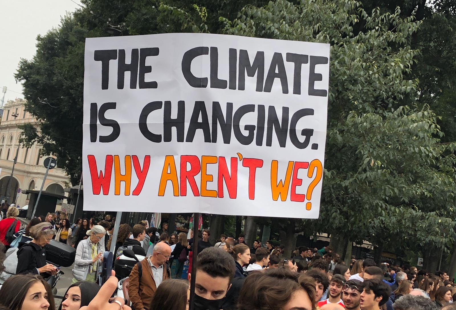 Global Strike for Climate: volti e voci dalla manifestazione di Milano (REPORTAGE)