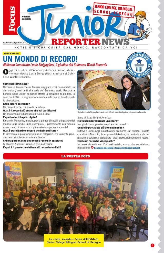 Giudice Guinnes World Record
