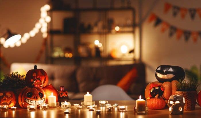 10 idee creative per decorare la casa ad Halloween