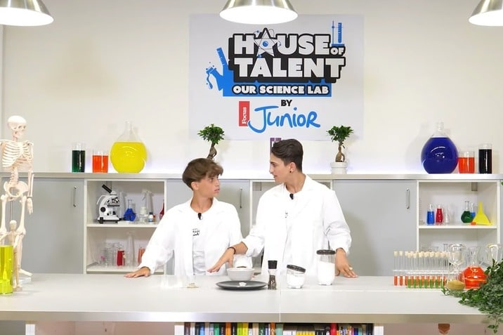 "House of Talent – Our Science Lab: ""Geyser in bottiglia"" (VIDEO)"