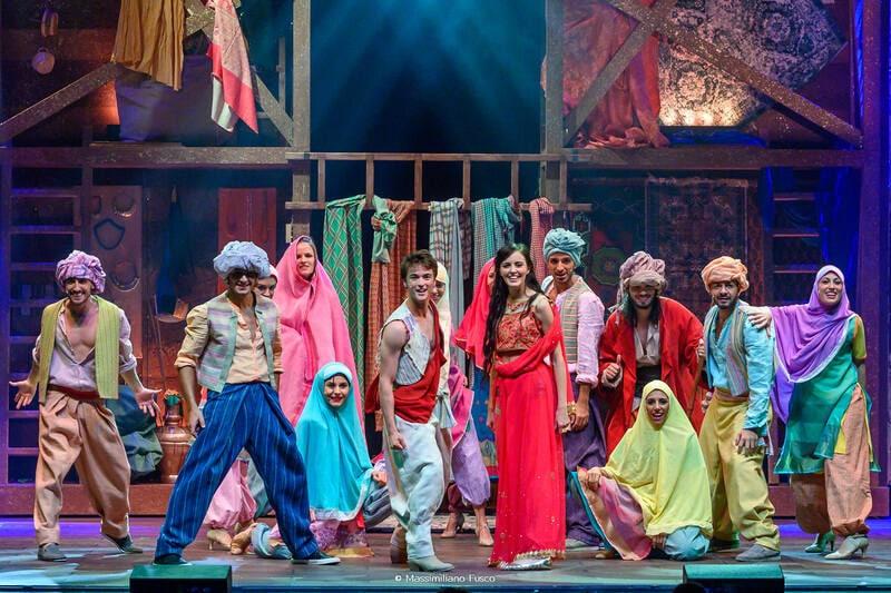 Aladin torna a teatro con un musical…Geniale