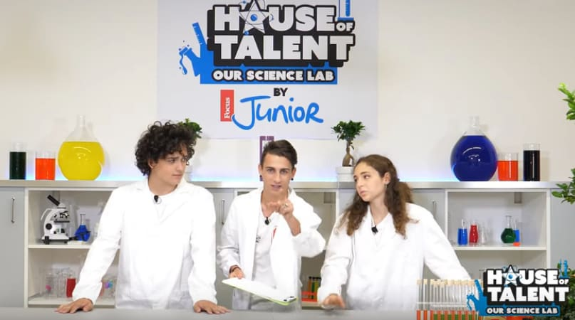 "House of Talent – Our Science Lab: ""Costruiamo una lampada di lava"" (VIDEO)"