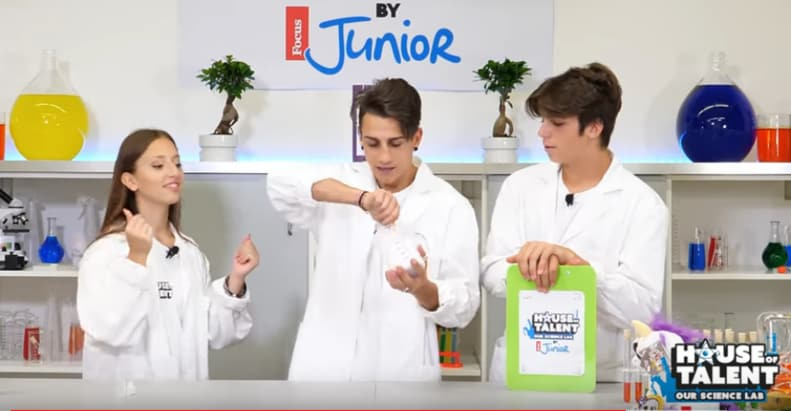 "House of Talent – Our Science Lab: ""Creiamo il nostro Slime"" (VIDEO)"