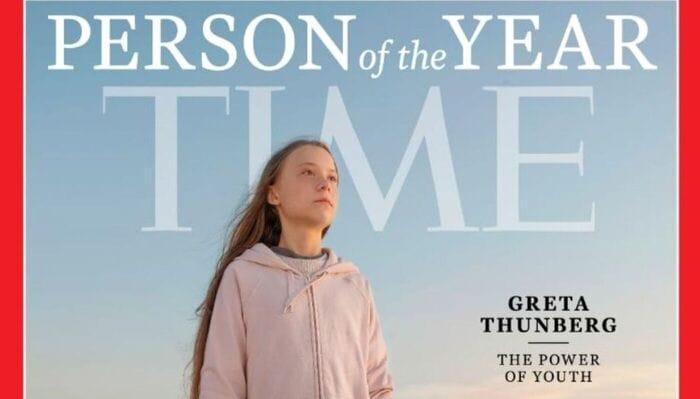 Greta Thunberg è la persona dell'anno per il Time