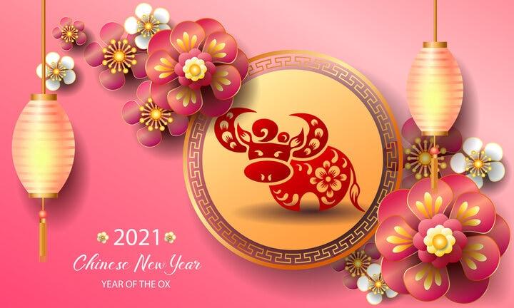 Capodanno cinese 2021: si entra nell'anno del bue